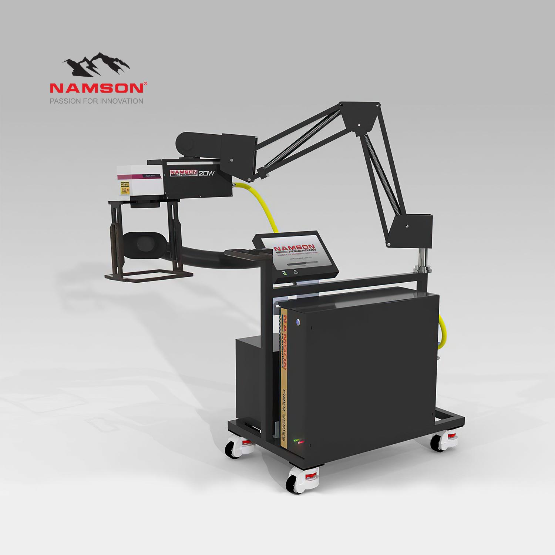 may khac laser namson powermark 1