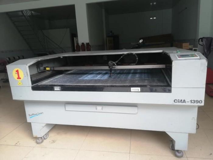 Máy khắc laser cũ giá rẻ